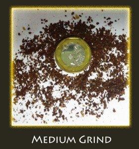 medium grind size