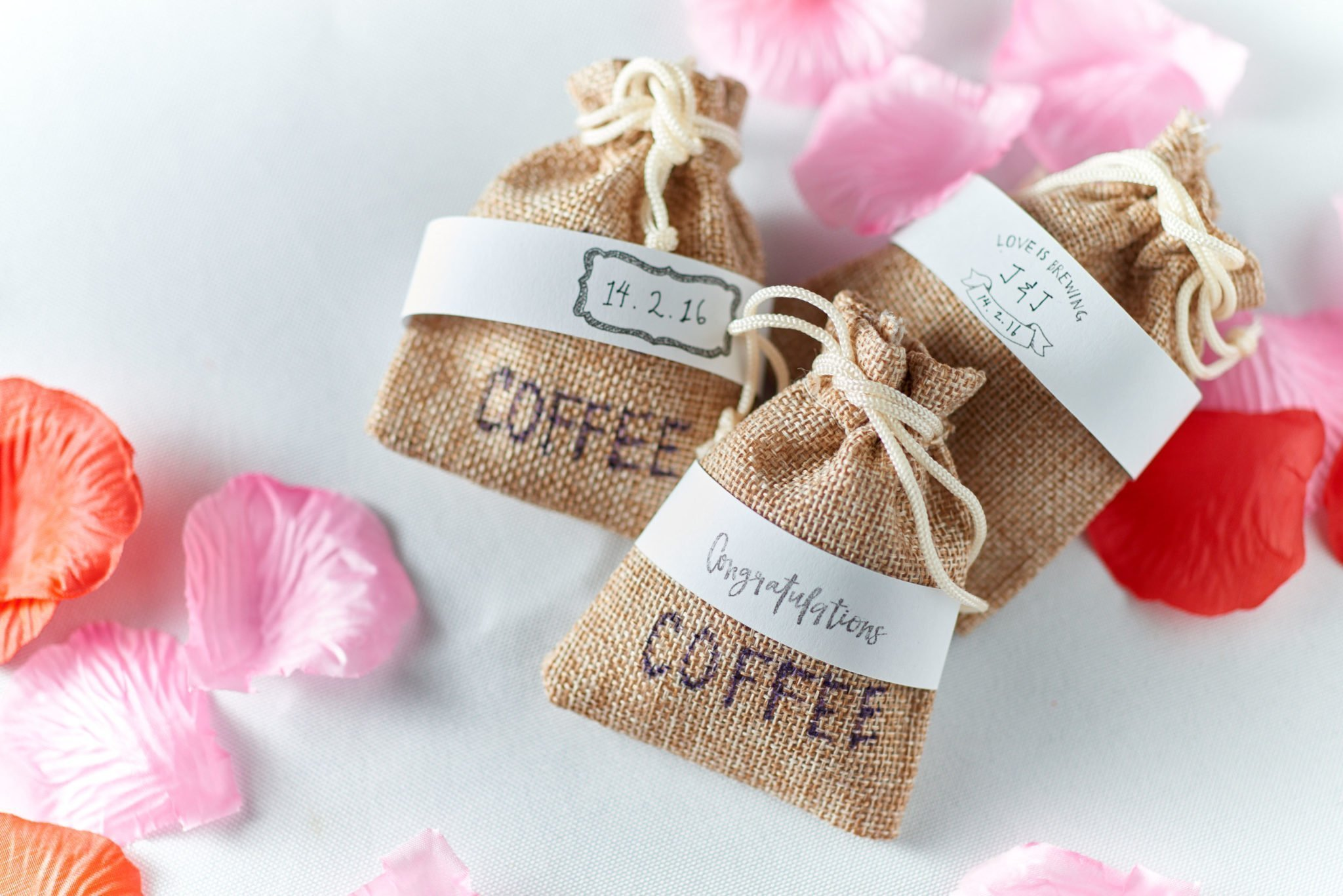 Wedding favors alliance coffee singapore for Wedding favor supplies