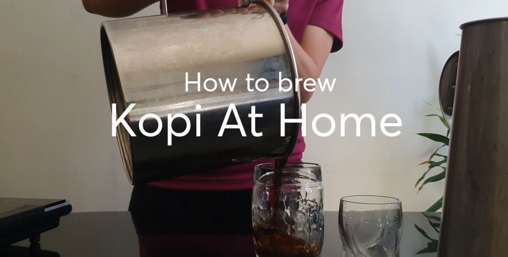 how to make kopi