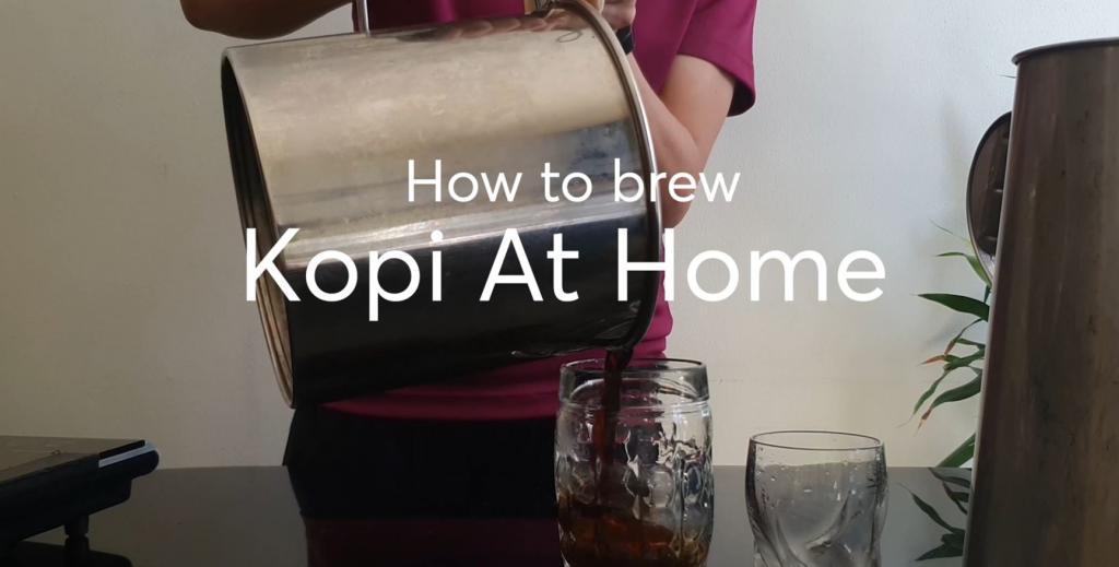 how to make kopi