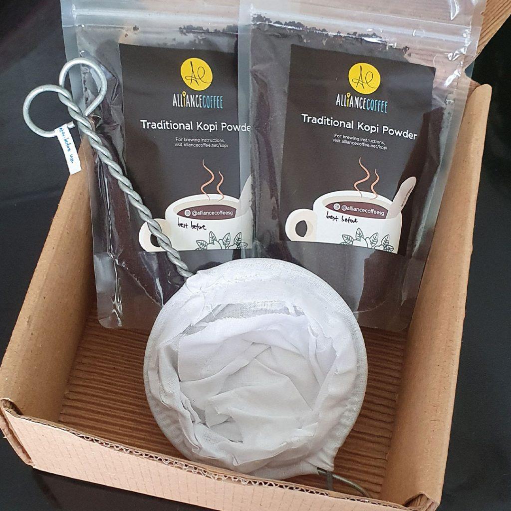 Kopi Brewing Gift Box (Sock)