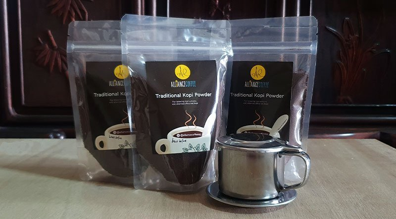 kopi brewing gift set