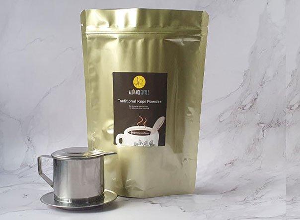 kopi phin set alliance coffee