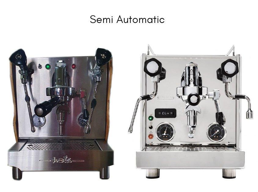 examples of semi automatic espresso machines